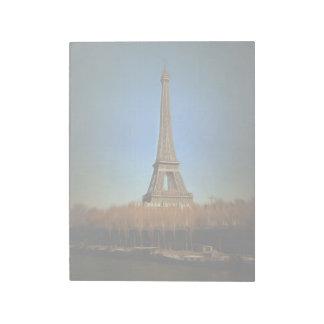 Eiffel Tower painting, Paris Memo Note Pads