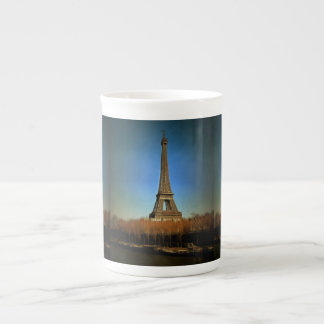 Eiffel Tower painting, Paris Porcelain Mug