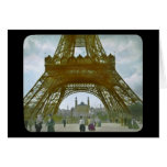 Eiffel Tower Paris 1900 Exposition Universelle