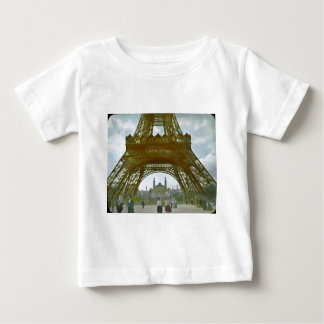 Eiffel Tower Paris 1900 Exposition Universelle Baby T-Shirt
