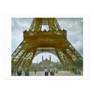 Eiffel Tower Paris 1900 Exposition Universelle Postcard