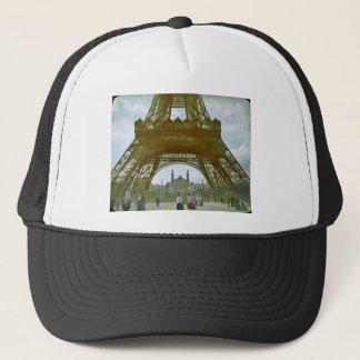 Eiffel Tower Paris 1900 Exposition Universelle Trucker Hat