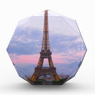 Eiffel Tower Paris Acrylic Award
