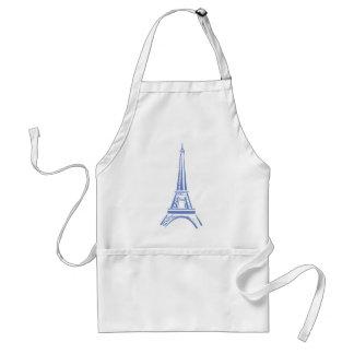 Eiffel Tower-Paris Adult Apron