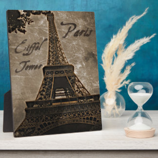 Eiffel Tower, Paris - Art Plaque