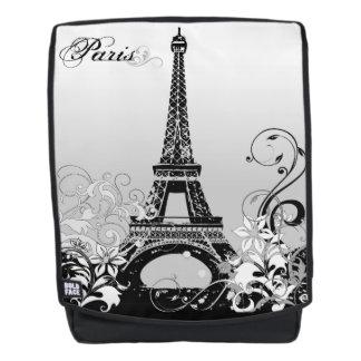 Eiffel Tower Paris (B/W) Boldface Backpack