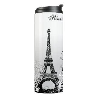 Eiffel Tower Paris (B/W) Thermal Tumbler
