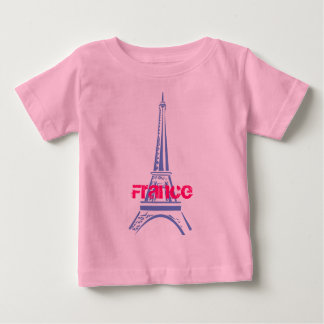 Eiffel Tower-Paris Baby T-Shirt