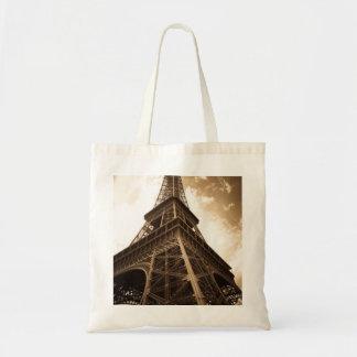 Eiffel tower Paris Canvas Bags