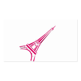 Eiffel Tower Paris Double-Sided Standard Business Cards (Pack Of 100)