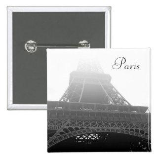 Eiffel tower, Paris Pinback Buttons