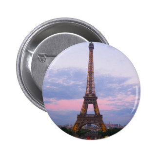 Eiffel Tower Paris 2 Inch Round Button