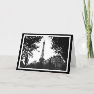 Eiffel Tower, Paris card