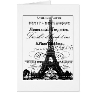 Eiffel Tower_Paris_Card Card