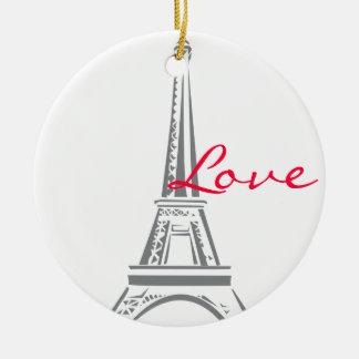 Eiffel Tower-Paris Ceramic Ornament