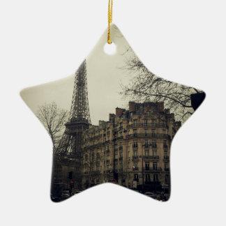 Eiffel Tower Paris City Building Architecture Ceramic Ornament