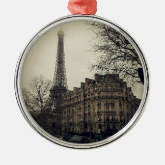 Eiffel Tower Paris City Building Architecture Metal Ornament