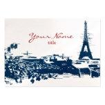 Eiffel Tower Paris Cityscape Sketch Chubby Cards