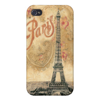 Eiffel Tower, Paris Covers For iPhone 4