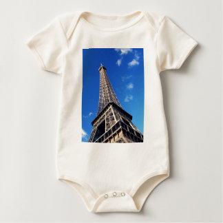 Eiffel Tower Paris Europe Travel Baby Bodysuit