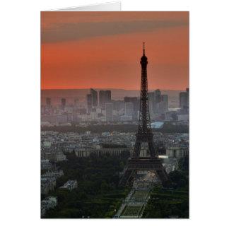 Eiffel Tower Paris Europe Travel Card