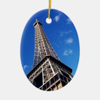 Eiffel Tower Paris Europe Travel Ceramic Ornament
