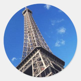 Eiffel Tower Paris Europe Travel Classic Round Sticker