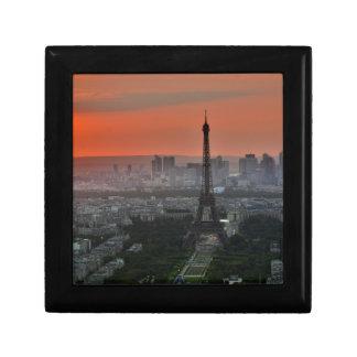 Eiffel Tower Paris Europe Travel Gift Box