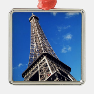 Eiffel Tower Paris Europe Travel Metal Ornament