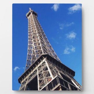 Eiffel Tower Paris Europe Travel Plaque