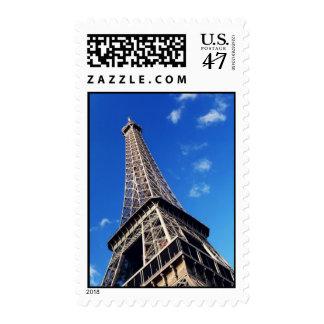 Eiffel Tower Paris Europe Travel Postage