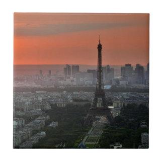 Eiffel Tower Paris Europe Travel Tile