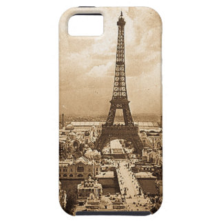 Eiffel Tower Paris Exposition Universelle 1900 iPhone 5 Covers