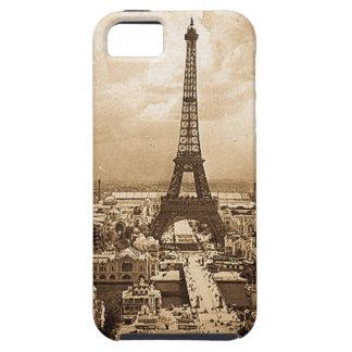 Eiffel Tower Paris Exposition Universelle 1900 iPhone SE/5/5s Case