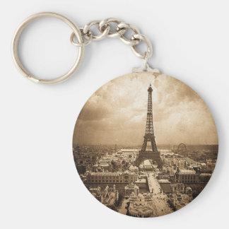 Eiffel Tower Paris Exposition Universelle 1900 Keychain