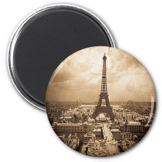 Eiffel Tower Paris Exposition Universelle 1900 Magnet
