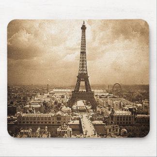 Eiffel Tower Paris Exposition Universelle 1900 Mouse Pad