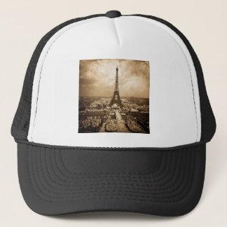 Eiffel Tower Paris Exposition Universelle 1900 Trucker Hat