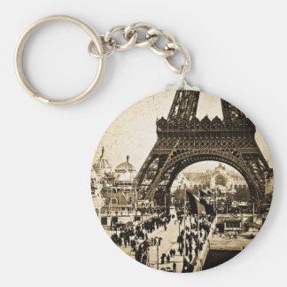 Eiffel Tower Paris Exposition Universelle Keychain