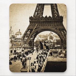 Eiffel Tower Paris Exposition Universelle Mouse Pad