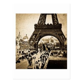 Eiffel Tower Paris Exposition Universelle Postcard