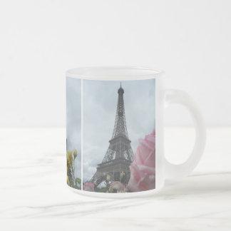 Eiffel Tower Paris Flowers Roses Gardens Mug
