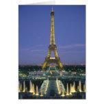 Eiffel Tower, Paris, France 2 Card