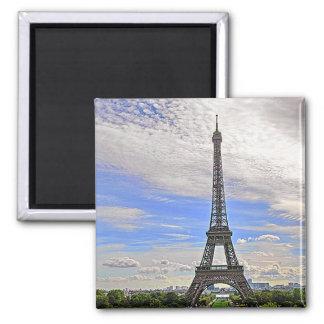 EIFFEL TOWER, PARIS, FRANCE 2 INCH SQUARE MAGNET