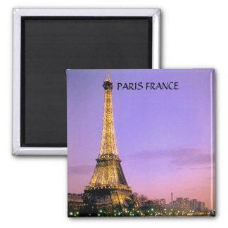 EIFFEL TOWER, PARIS FRANCE 2 INCH SQUARE MAGNET