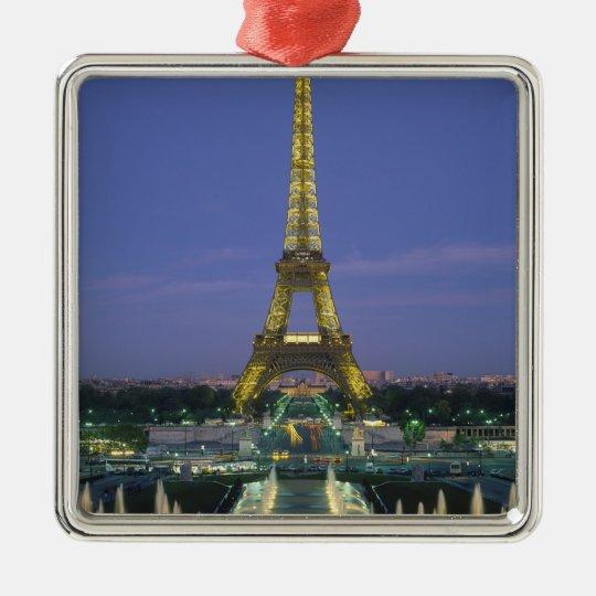 Eiffel Tower, Paris, France 2 Metal Ornament