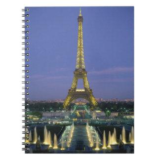 Eiffel Tower, Paris, France 2 Notebook