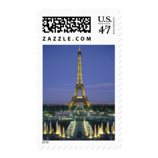 Eiffel Tower, Paris, France 2 Postage Stamp