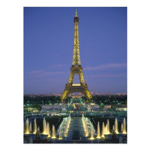 Eiffel Tower, Paris, France 2 Postcard