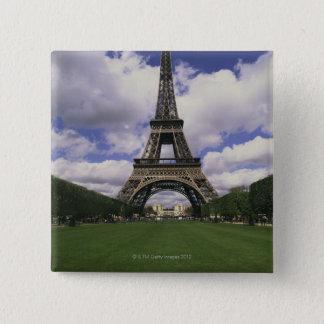Eiffel Tower, Paris, France 3 Pinback Button